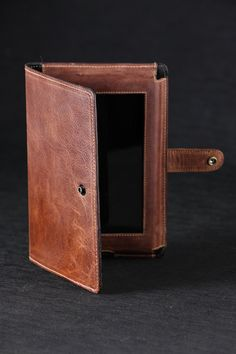Tablet Cover book style tablet cover leather by EthosCustomBrands, $137.50