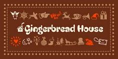 gingerbread font - Google Search