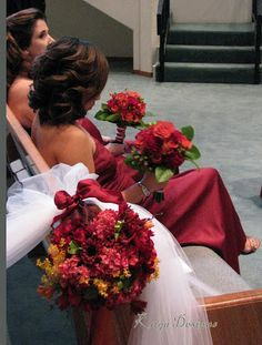 What color(s) go with burgundy? | Weddings, | Wedding Forums | WeddingWire