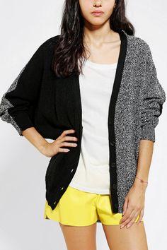 Sparkle & Fade Colorblock Cardigan - Urban Outfitters