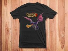 clash of clans dragons for Youth T Shirt by kingsandqueensstore, $18.00