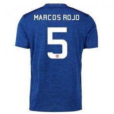 Manchester United Cup Away Shirt 2016 17 with Marcos Rojo 5 printing Sports Online Shopping Manchester United, Sport Online, Football Kits, The Unit, Shirts, Shopping, Printing, Red, Frames