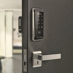Installation services for Gateman Samsung Push Pull SHP SHP 739 digital lock in SIngapore by My Digital Lock call 90677990 Door Design, House Design, Veneer Door, Digital Lock, Emergency Locksmith, Smart Door Locks, Home Technology, Home Gadgets, House Rooms