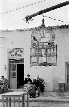 From Tobacco Story. Greece, 1957 by René Burri Greece Photography, Street Photography, Art Photography, Vintage Pictures, Old Pictures, Greece History, Retro Signage, Old Time Photos, Greece Pictures