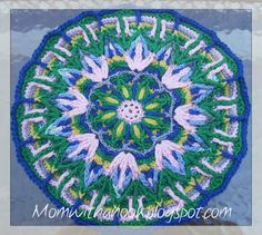 MomWithAHook's Crochet Journal: My First Crochet Mandala
