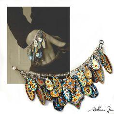 """""""Daralis"""" bracelet by Atelier Jen www.atelierjen.com"""