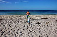 Following In Dad's Footsteps - Manasota Key Englewood Florida USA #art…