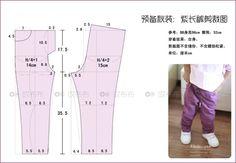 预备秋装:紫长裤附剪裁图大量真人秀。。。