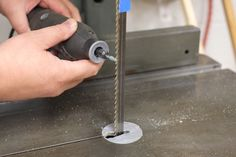 When a bandsaw blade becomes dull, you could replace it, but sometimes you can get some additional life out of your old bandsaw blade by resharpening it.