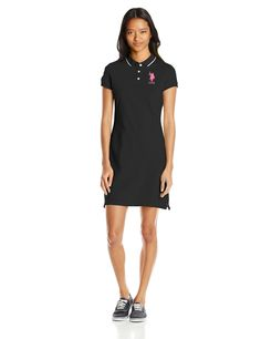 U.S. Polo Assn. Juniors' Classic Pique Polo Dress