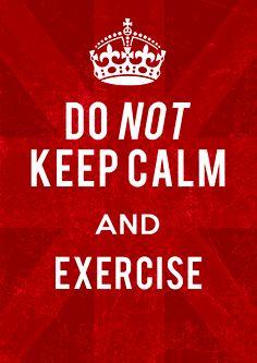 Schimbarea începe cu tine! #TomorrowIsNow #change #campaign #keepcalm #exercise #inspire #selfhelp