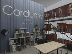 Stand CORDUROY (Colombiatex 2013) by Plasma Diseño , via Behance
