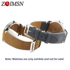 ZLIMSN Men Women Genuine Leather Watch Bands Watches Accessories Replacement 20mm Belt Suitable for Longines Watchband Wristband. Yesterday's price: US $17.48 (14.20 EUR). Today's price: US $6.82 (5.54 EUR). Discount: 61%.
