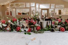 Wedding Venues, Cap, Table Decorations, Furniture, Image, Home Decor, Wedding Reception Venues, Baseball Hat, Wedding Places