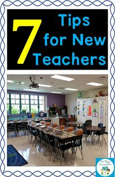 Seven easy to follow tips for new teachers to follow. Print and use as a guide during your first few years of teaching, as well as a good reminder when you have been teaching for a longer period of time. Click the picture to read more.