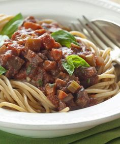 Eggplant Bolognese Recipe