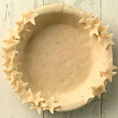 Star pie crust - patriotic dessert