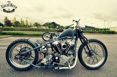 Harley-Davidson Knucklehead bobber #harleydavidsonknucklehead #harleydavidsonchoppersoldschool