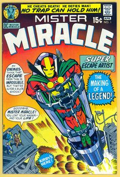 Jack Kirby's Mister Miracle #1