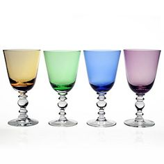 @williamyeoward's elegant, richly-hued crystal goblet is the glass for enjoying your favorite beverage.
