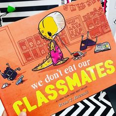 This was a new one for me and it was such a cute back to school read aloud!!! #wedonteatourclassmates #holliegriffithteaching