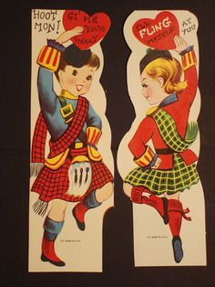 Vintage Valentine's Day Cards.