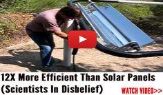 Prairie Generator...is it more efficient & better than solar panels?