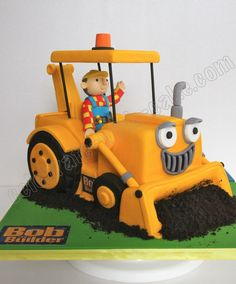 Celebrate with Cake!: Bob the Builder Scoop Cake