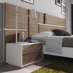 Headboard Storage Collections For Your Perfect Bedroom - homesdeccor Bedroom Furniture Design, Master Bedroom Design, Bed Furniture, Home Bedroom, Furniture Makers, Bedroom Modern, Accent Furniture, Suites, Luxurious Bedrooms