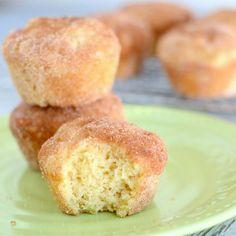 Cinnamon Sugar Donut Muffins (French Breakfast Puffs)