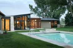Denver-based studio Semple Brown Design has completed the Kennedy Residence project.  This single story contemporary home is located in Boulder, Colorado, USA.