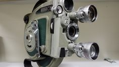 Eumig C16R 16mm motion picture camera, with cyclops lense, made in Austria