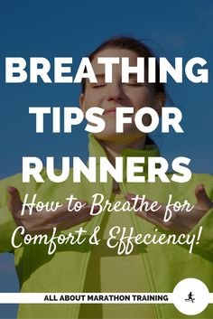 Let's talk about the most efficient breathing tips and techniques for different paces of running. Also proper posture and being conscious of HOW you are breathing make a big difference!  #allaboutmarathontraining #breathingtips #runningtip