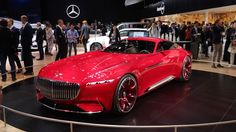 Maybach concept boasts 738 electric horsepower and over 18 feet of luxury     - Roadshow  Roadshow  News  Concept Cars  Maybach concept boasts 738 electric horsepower and over 18 feet of luxury  The Vision Mercedes Maybach 6 is 18 feet of wow  The Maybach concept is a mix of classic styling and modern technology with a swoon-worthy boat tail rear end.                                              by Emme Hall  Close  Drag  The 1940s saw some automotive designers taking cues from aviation…