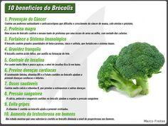 Benefícios dos brócolis para a saúde