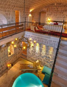 Underground Hotel, Unusual Hotels, Hotels In Turkey, Hotel Concept, Hotel Interiors, Argos, Hotel Reviews, Luxury Living, Cappadocia Turkey