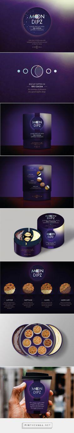 Moon Dipz Biscuit - Packaging of the World - Creative Package Design Gallery - http://www.packagingoftheworld.com/2018/01/moon-dipz.html
