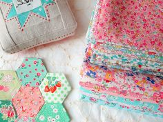 Pretty Floral Sewing Insipration from Zakka Art