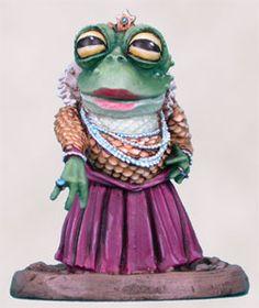 Visions in Fantasy - Frog Queen