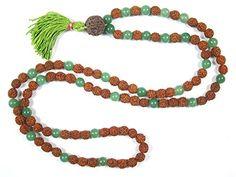 Fourth Heart Chakra- Green Jade Rudraksha Prayer Mala Yoga Beads 108+1 Mogul Interior http://www.amazon.com/dp/B00UMTIDIA/ref=cm_sw_r_pi_dp_V-Uhvb1XGCTB9