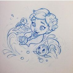 Heartbeat: the beautiful drawings by Nicole Garber - The Trend Disney Cartoon 2019 Moana Disney, Disney Princess, Disney Kunst, Arte Disney, Disney Art, Disney Images, Disney Stuff, Art Drawings Sketches, Cartoon Drawings