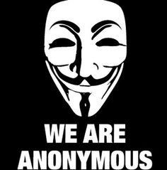 """Anonymous.  I still roll my eyes whenever they appear in the news.  It's not that I don't appreciate their efforts: I do.  But I detect a small amount of cowardice.  And they obviously don't pride themselves on creativity.  All I'm saying is, create your own identity.  Stop mining the Vendetta series.  And for goodness sake, come up with a name.  """"Anonymous"""" is just lazy."""