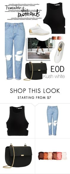 """EOD 2/1"" by merima-kopic ❤ liked on Polyvore featuring T By Alexander Wang, Topshop, NYX and EODstyle"