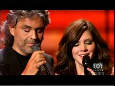ANDREA BOCELLI - 49 & KATHARINE McPHEE - 23 - BEST DUET IN THE HISTORY OF PLANET EARTH - 2007 - YouTube