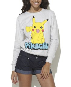 Pikachu Sweatshirt from Wet Seal. I've wanted this since the second I saw it online.....