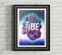 #everydayposter #music #stuff #collage #abstract #nowplaying #poster #design #art #graphicdesign #laavdesign #oksanalav #phrase #text #die