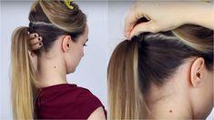 Megbocsájthatatlan! A lányok többsége rosszul készíti el ezt a fajta frizurát! - Bidista.com - A TippLista! Tattoos, Hair, High Ponytails, Step By Step Hairstyles, Tatuajes, Tattoo, Strengthen Hair, Tattos, Tattoo Designs