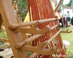 ww loom at Festival d'Histoires vivante in Marles