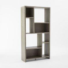 Rectangle Cutout Bookcase | West Elm