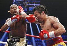 El combate entre Mayweather - Pacquiao